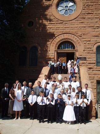 Confirmands and Communicants