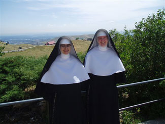 Sister Philomena and Sister Gertrude